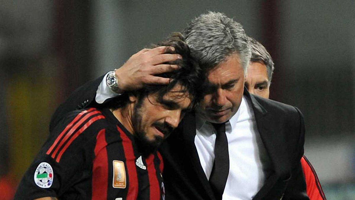 Гаттузо: Для мене Анчелотті більше, ніж тренер