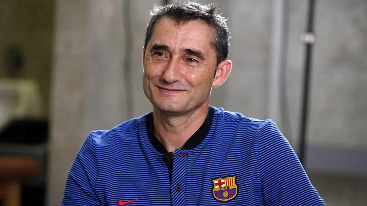 Вальверде не веде переговорів щодо продовження контракту з Барселоною