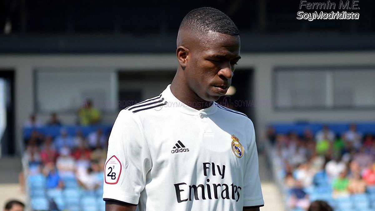 Винисиус дебютировал за Реал Мадрид Кастилью