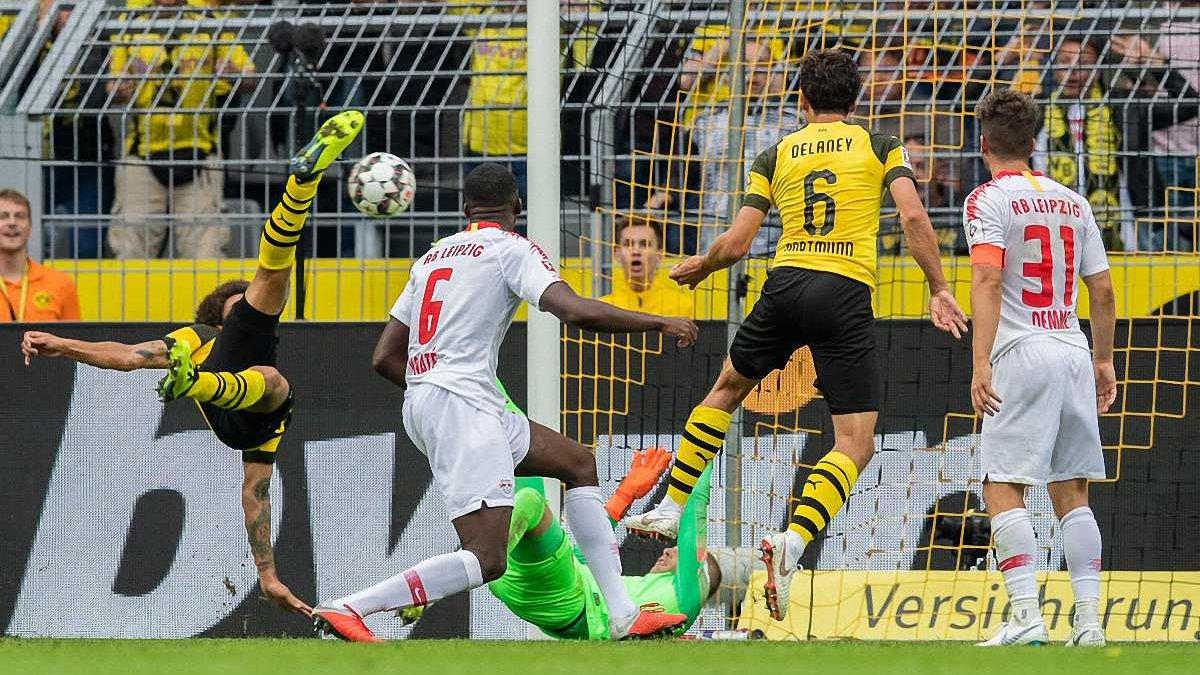 Витсель забил невероятный гол в ворота РБ Лейпциг