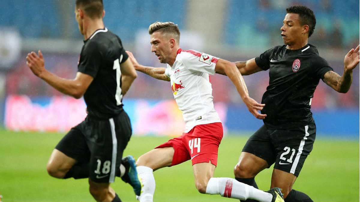 Заря драматично проиграла РБ Лейпциг и вылетела из Лиги Европы