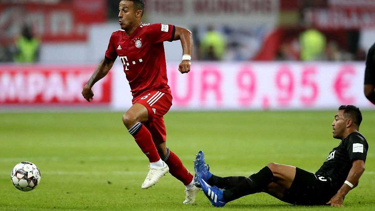 Бавария отказала Реалу в трансфере Тьягу