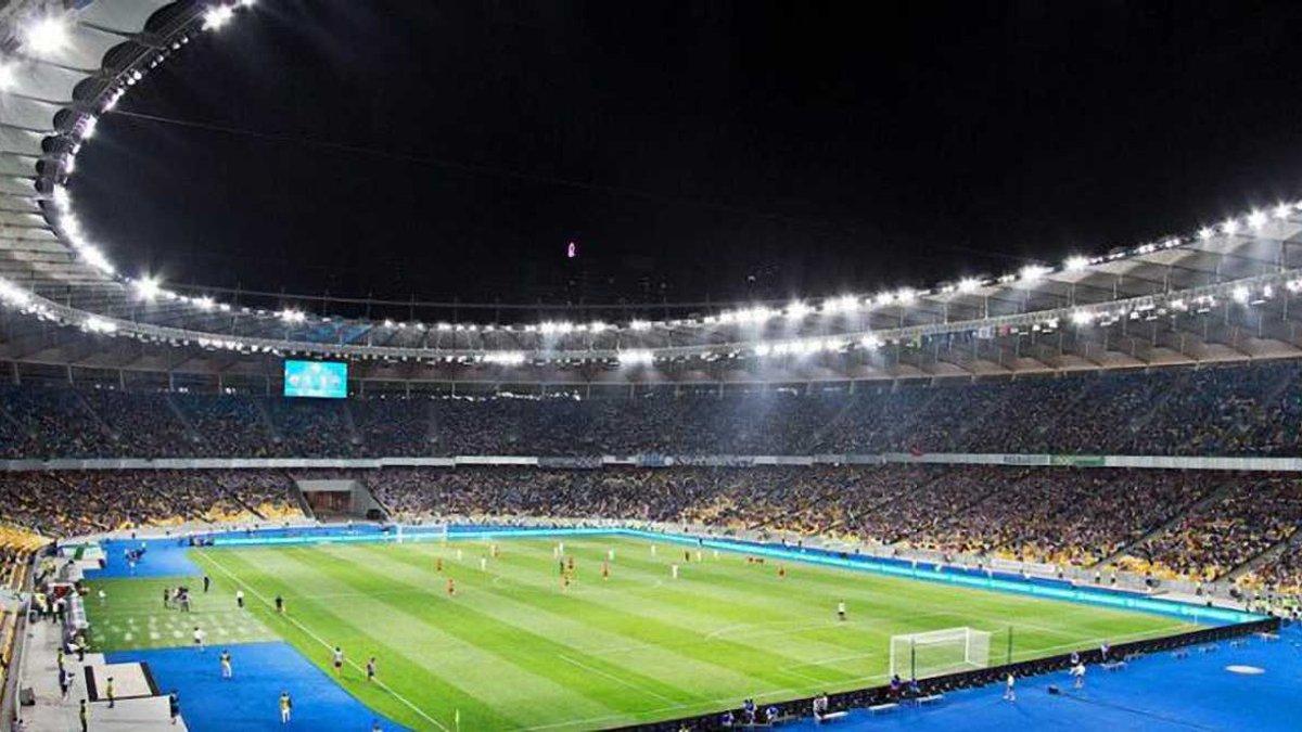 Динамо – Аякс: як виглядає газон НСК Олімпійський перед матчем