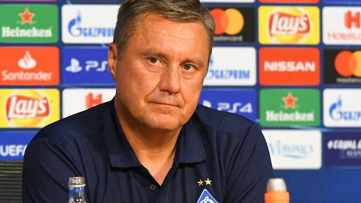 Хацкевич: Динамо нужен форвард, но у нас есть определенный уровень зарплат