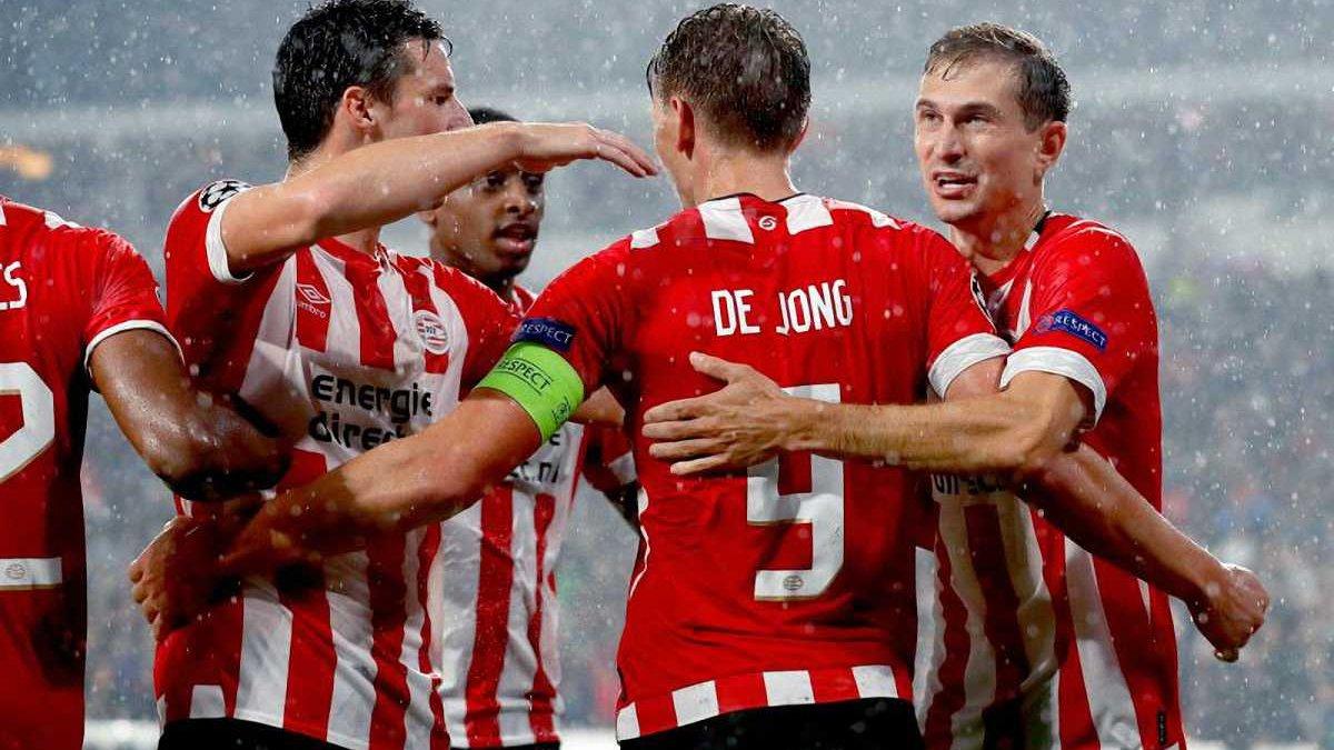 Лига чемпионов: ПСВ, Бенфика и Црвена Звезда пробились в групповой этап Лиги чемпионов