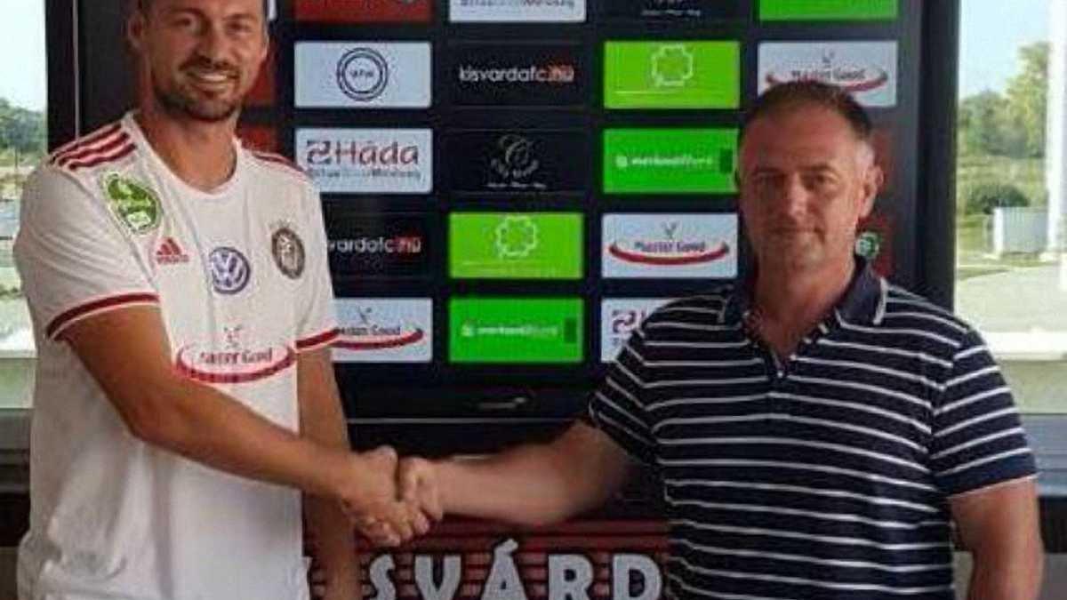 Милевский стал игроком Кишварды, за которую уже выступают 3 украинца
