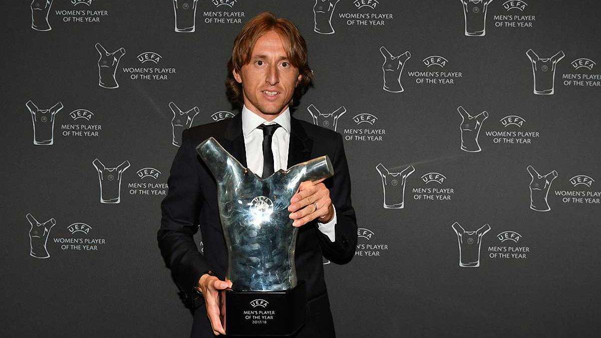 Модріч присвятив нагороду найкращого гравця сезону 2017/18 своєму батькові