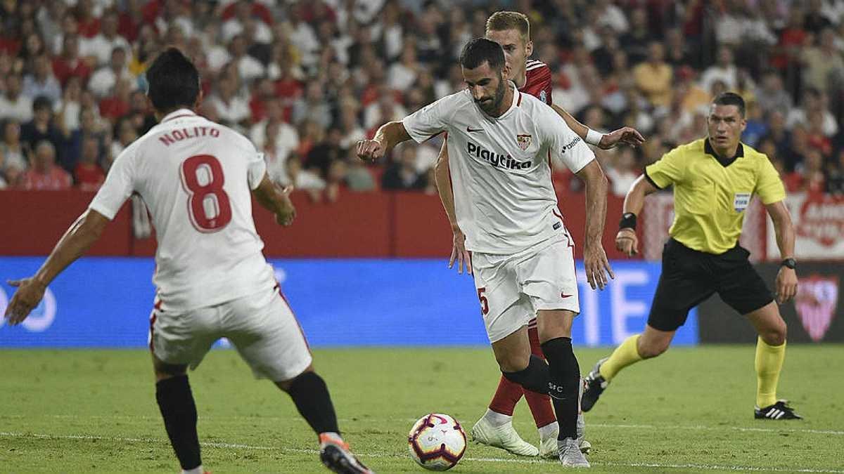 Севілья – Сігма: фанати команд побились перед матчем Ліги Європи