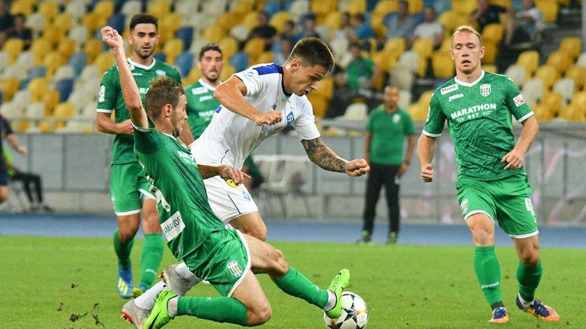 Динамо – Карпаты – 0:2 – видео голов и обзор матча