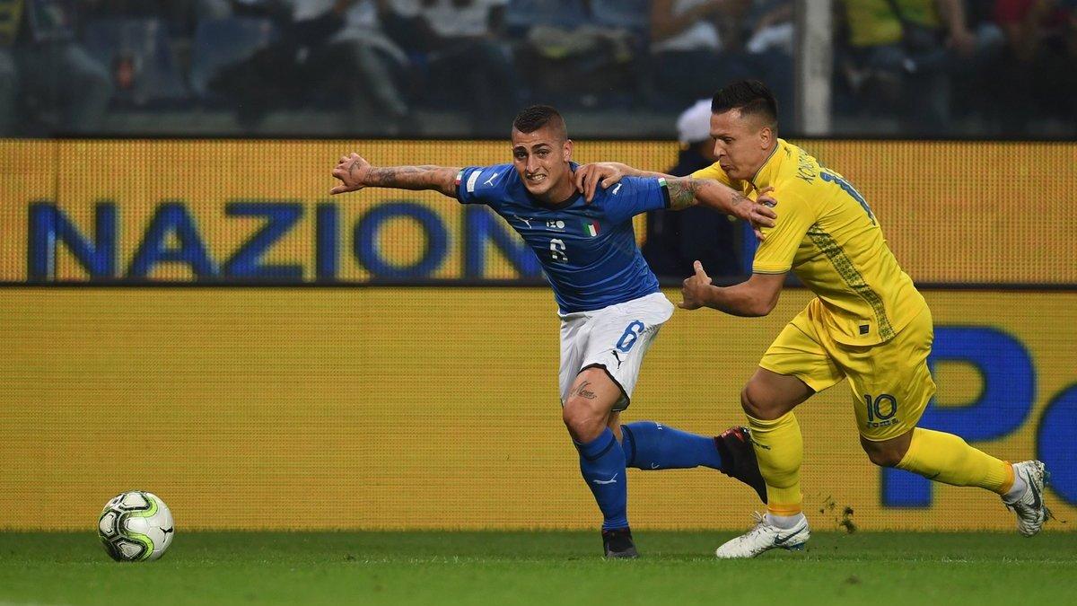 Футбол украина италия молодежка
