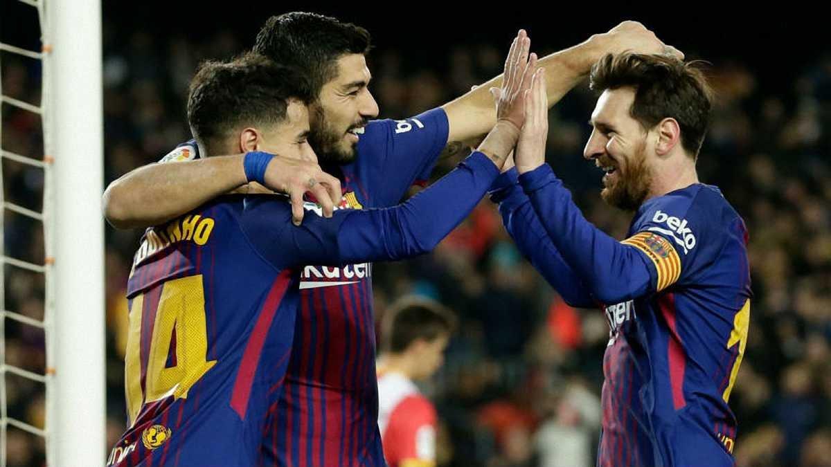 Атлетіко – Барселона: Коутінью пропустить матч, Дембеле потрапив у заявку