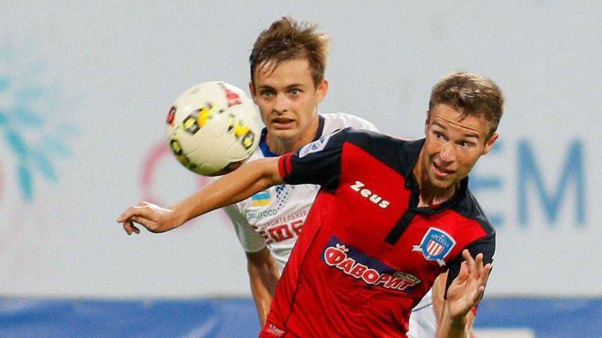 Черноморец – Арсенал-Киев – 2:1 – видео голов и обзор матча