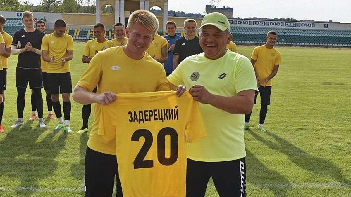 Экс-футболист Волыни Задерецкий признан виновным в избиении девушки