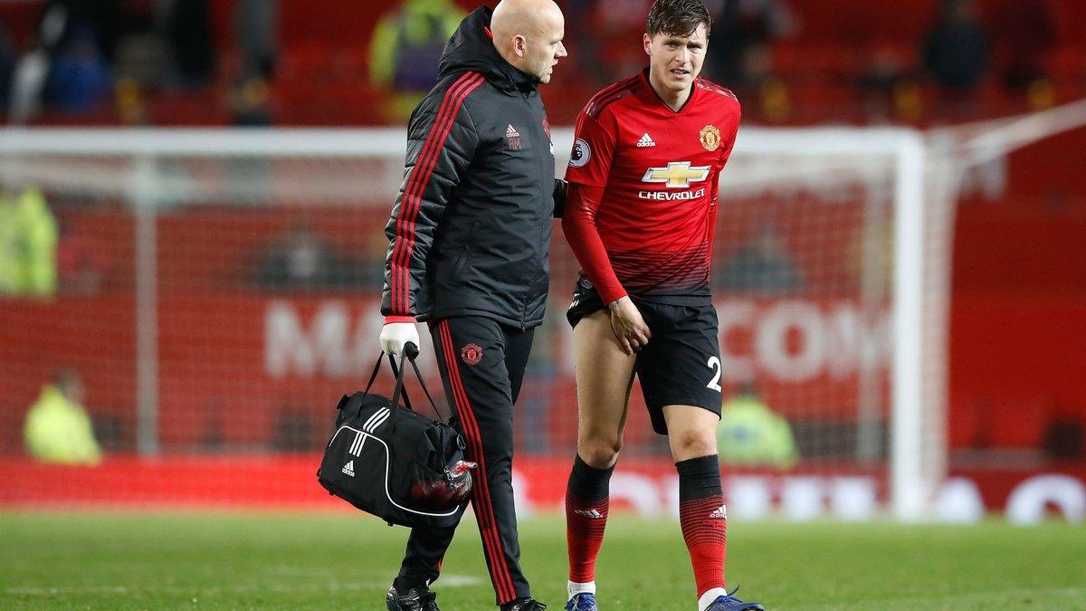 Линделёф не поможет Манчестер Юнайтед в матче Лиги чемпионов