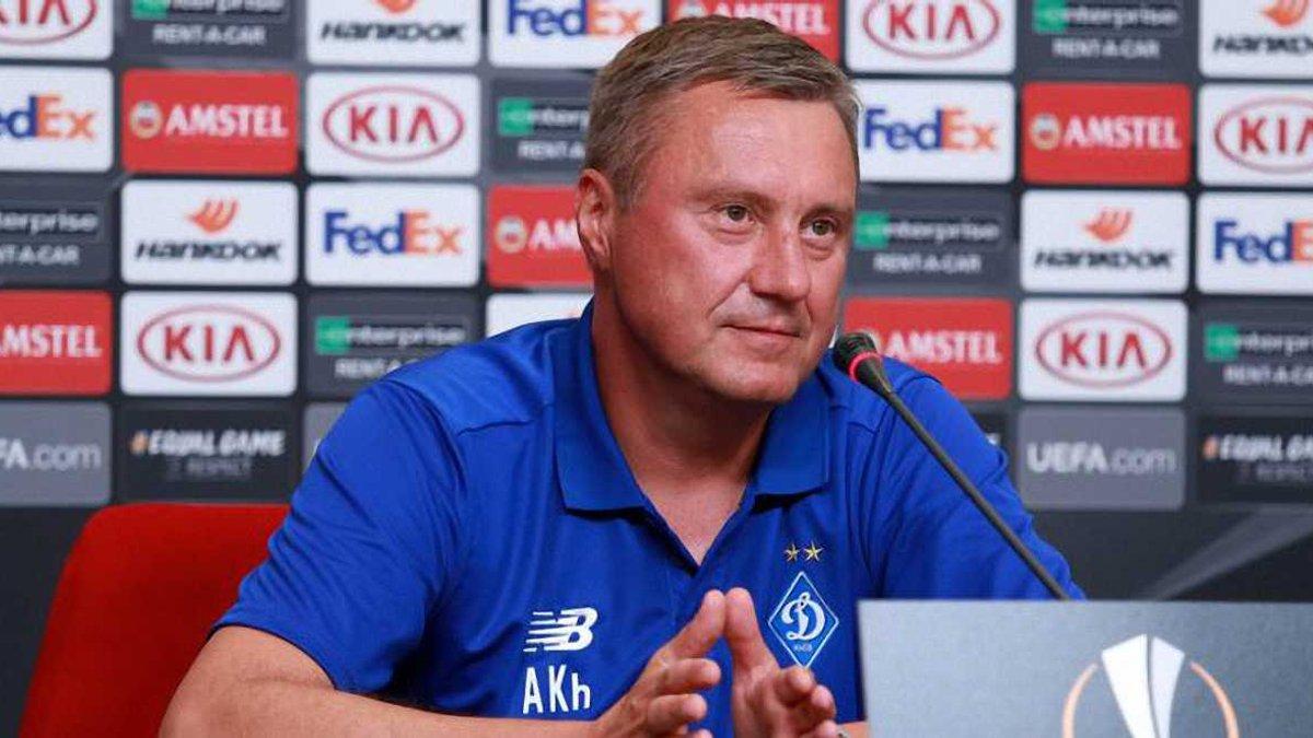 Астана – Динамо: предматчевая пресс-конференция Александра Хацкевича