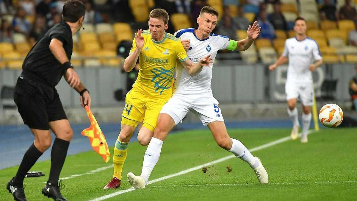 Мізін: Матч Динамо та Астани є вирішальний у боротьбі за перше місце у групі