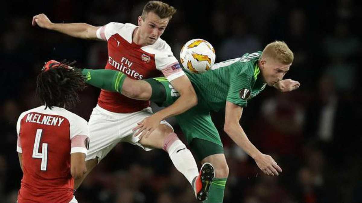Ворскла розгромно поступилась резервному складу Арсенала та втратила шанси на вихід з групи Ліги Європи