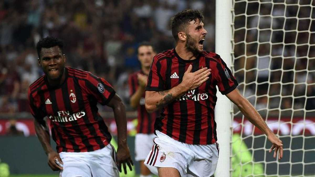 Лига Европы: Милан избежал конфуза в матче с Дюделанжом, Спортинг поиздевался над Карабахом