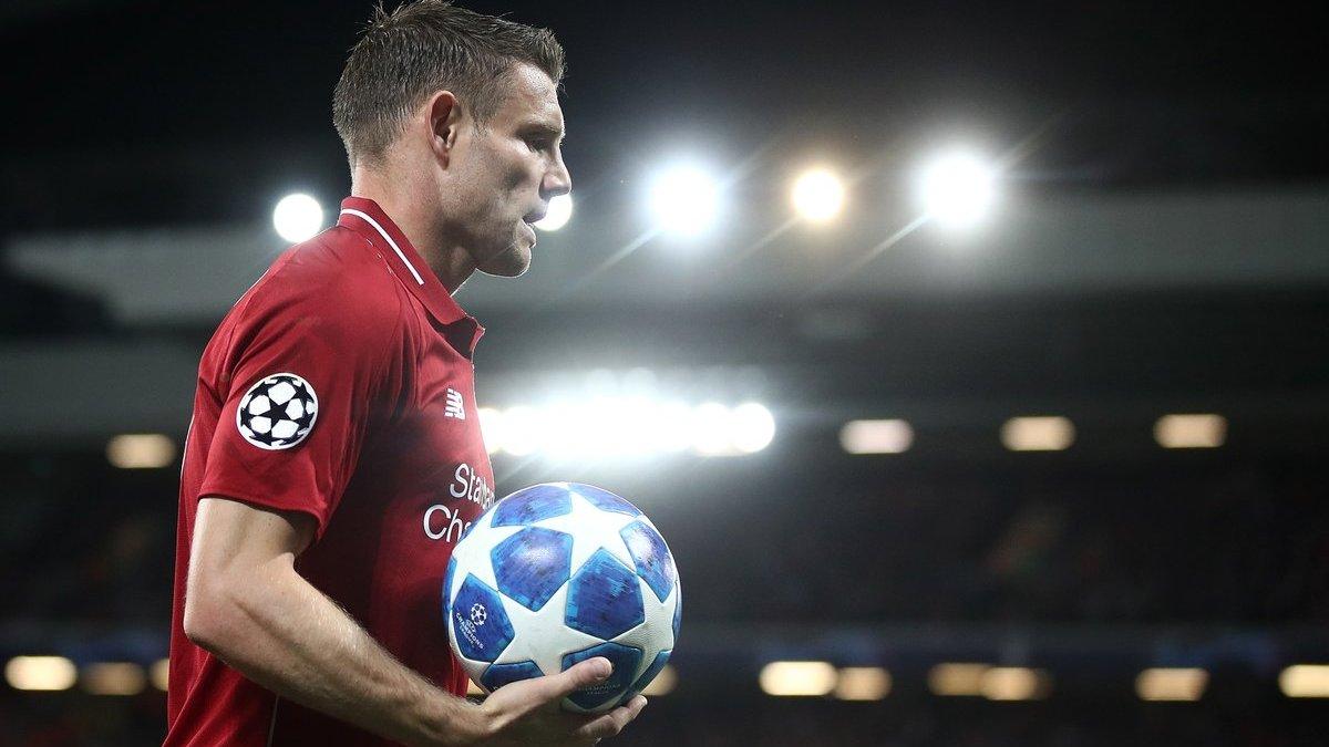 Милнер: Ливерпуль не заслуживает места в плей-офф, если не может выиграть домашний матч Лиги чемпионов