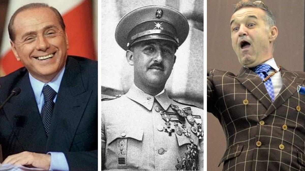 """Від диктатора Франко – до міністра Берлусконі: топ-5 клубів, які сміються над фразою """"футбол поза політикою"""""""