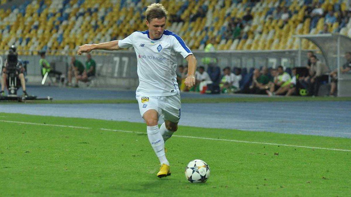 Калітвінцев виключений із заявки Динамо на УПЛ