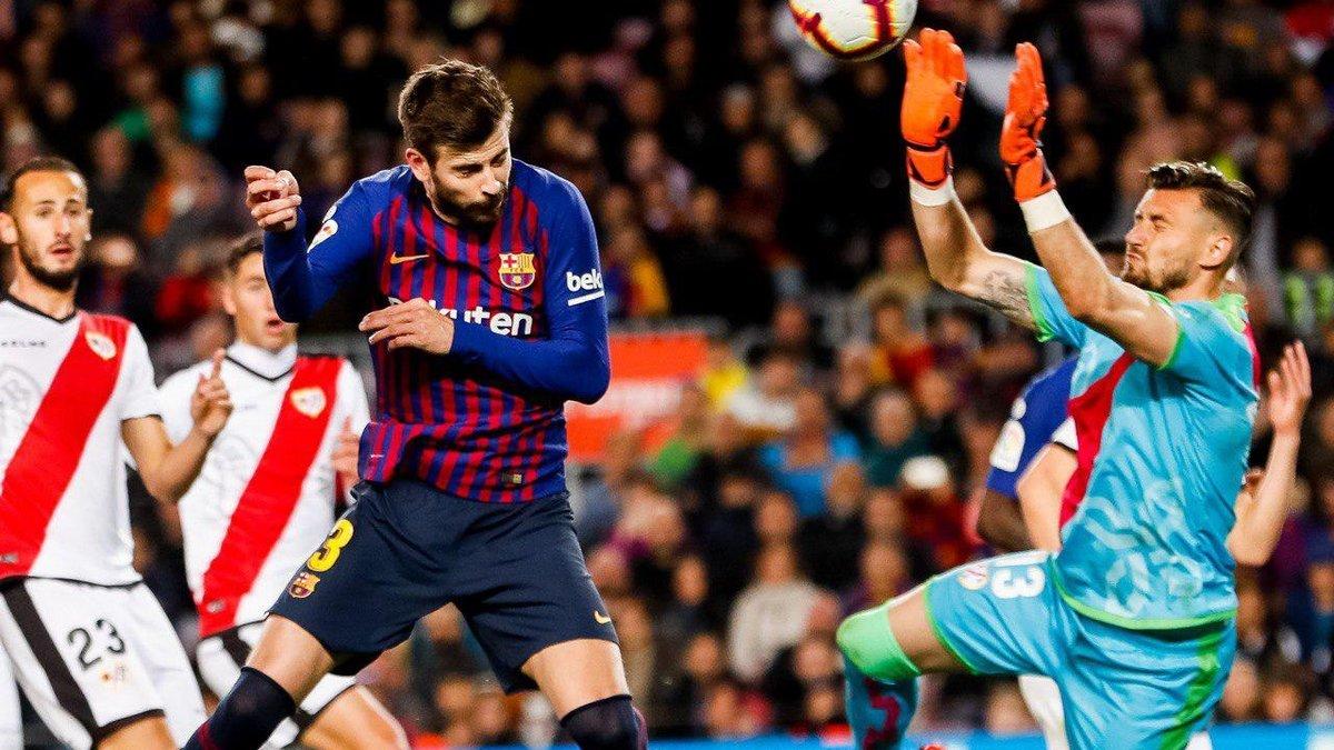 Барселона – Райо Вальекано – 3:1 – видео голов и обзор матча