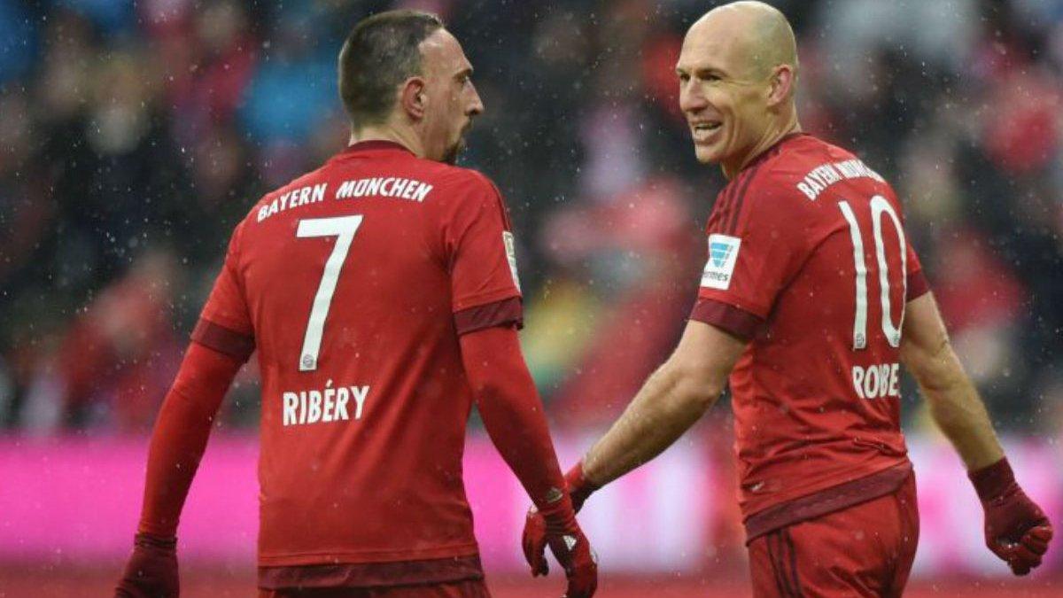 Бавария проведет Рибери и Роббену прощальный матч