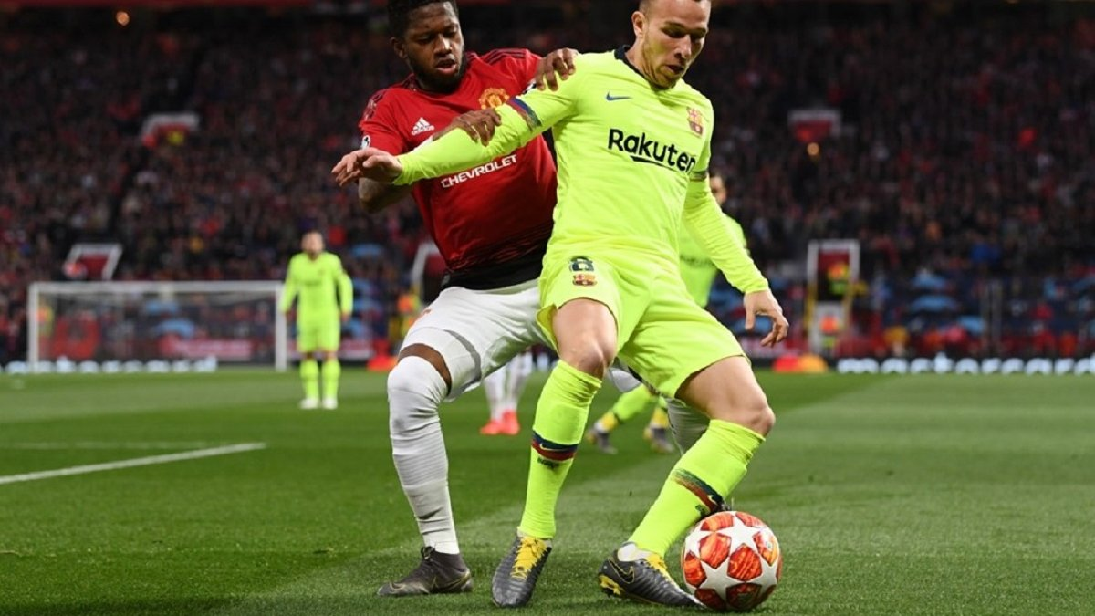 Манчестер Юнайтед – Барселона – 0:1 – видео гола и обзор матча