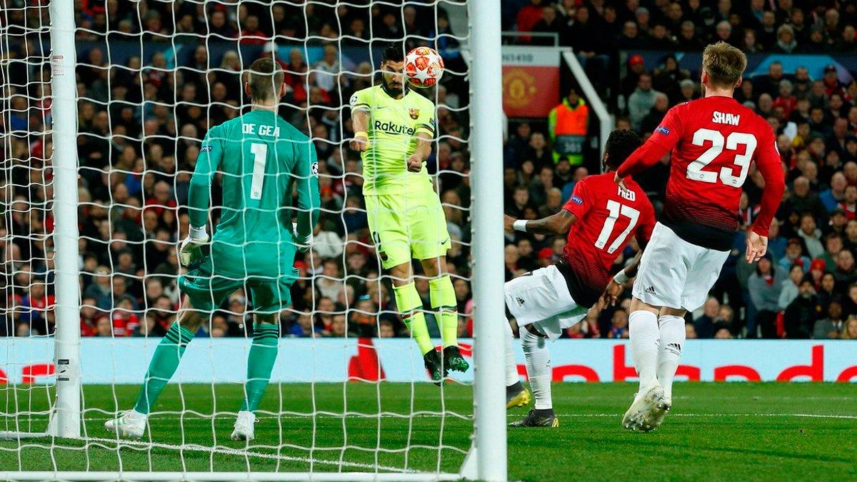 Барселона перемогла Манчестер Юнайтед: рівний і дивний поєдинок, перфоманс Мактоміная та суперечливий арбітраж Роккі