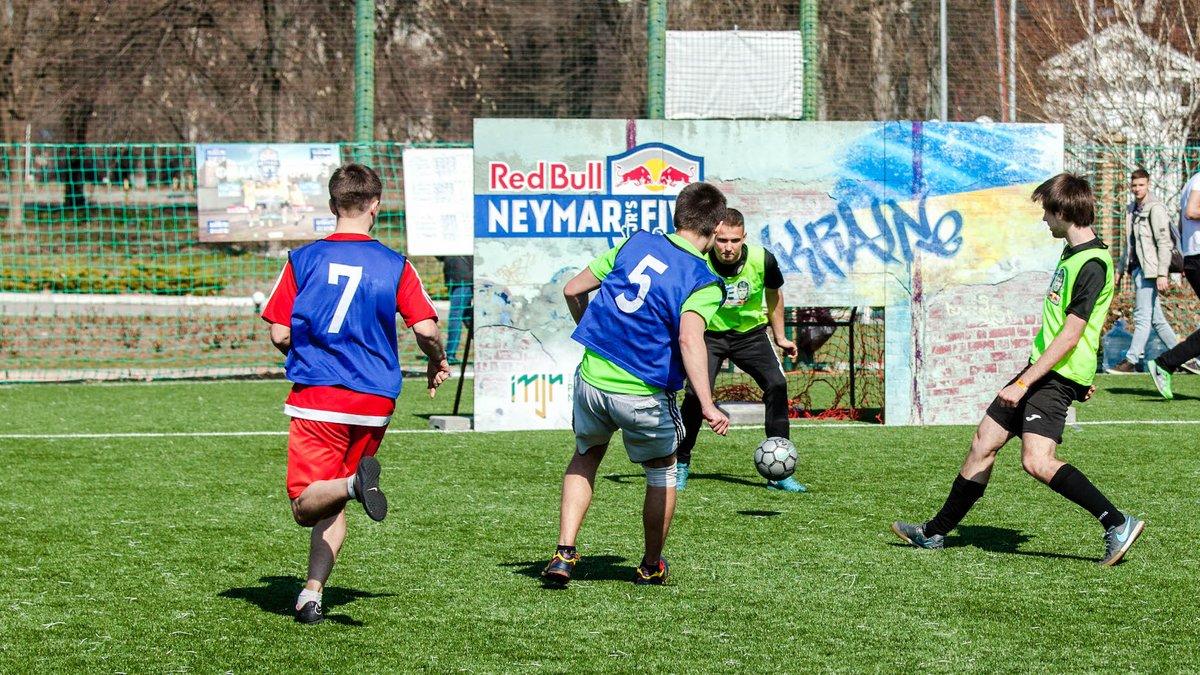 В Запорожье стартовали квалификации футбольного чемпионата Red Bull Neymar Jr's Five