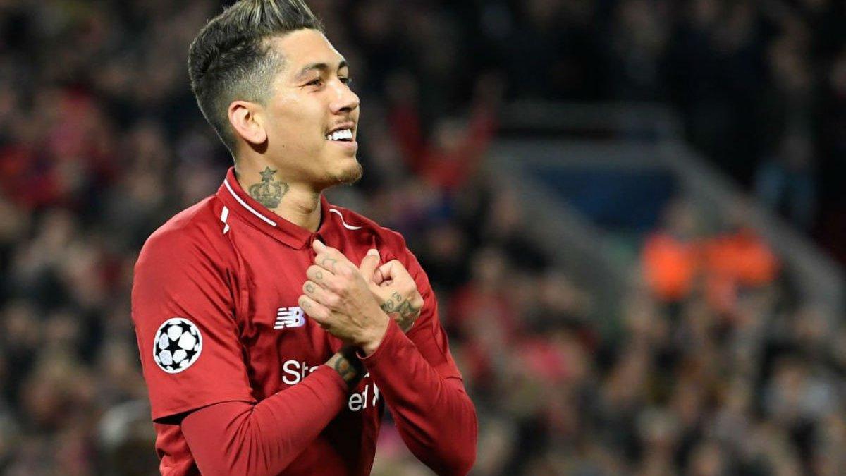 Фирмино догнал Салаха и Мане за голами в составе Ливерпуля в Лиге чемпионов – впереди только Джеррард