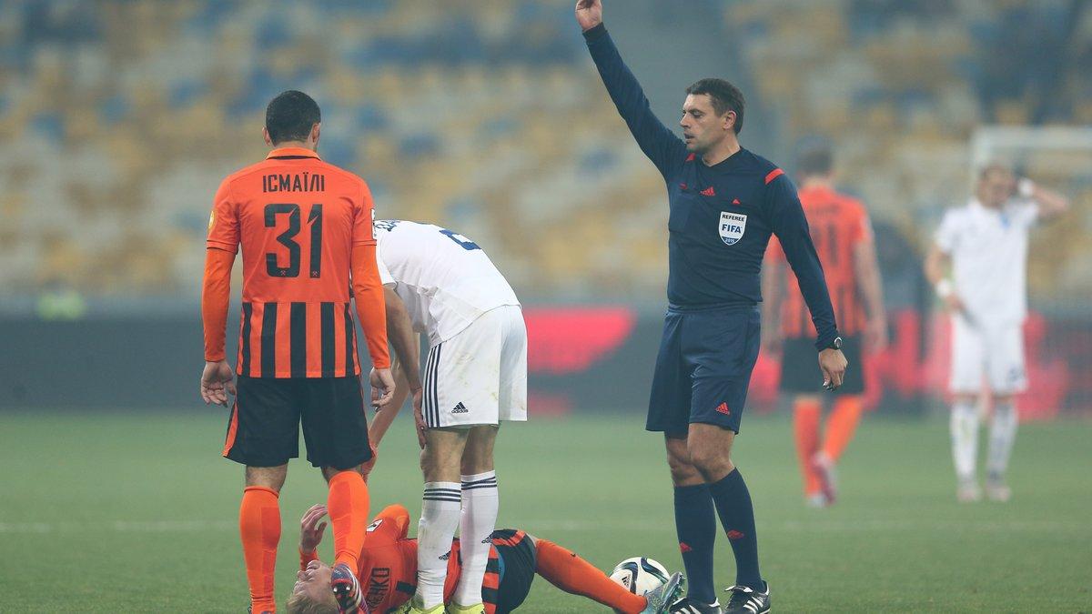 Мариуполь – Динамо рассудит Можаровский, Шахтер и Зарю – Абдула