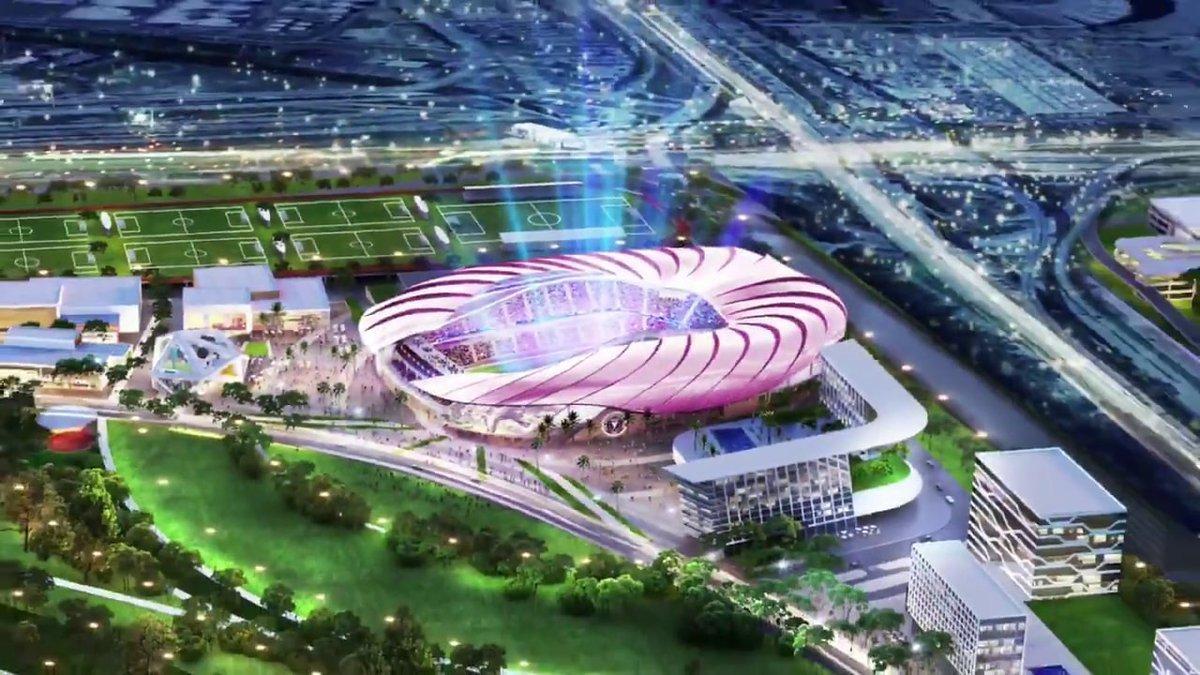 Клуб Бекхэма показал проект нового стадиона