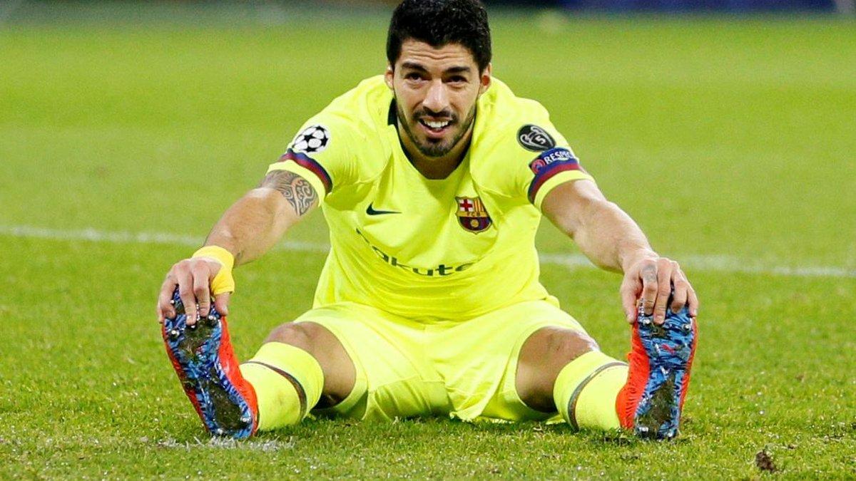 Суарес не может забить на выезде в Лиге чемпионов уже 1599 минут