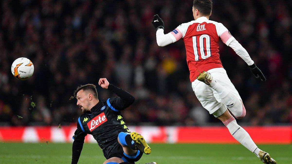 Арсенал – Наполи: катастрофа звезд Анчелотти, доминирование и щедрые дары лондонцев, заявка на английский финал ЛЕ