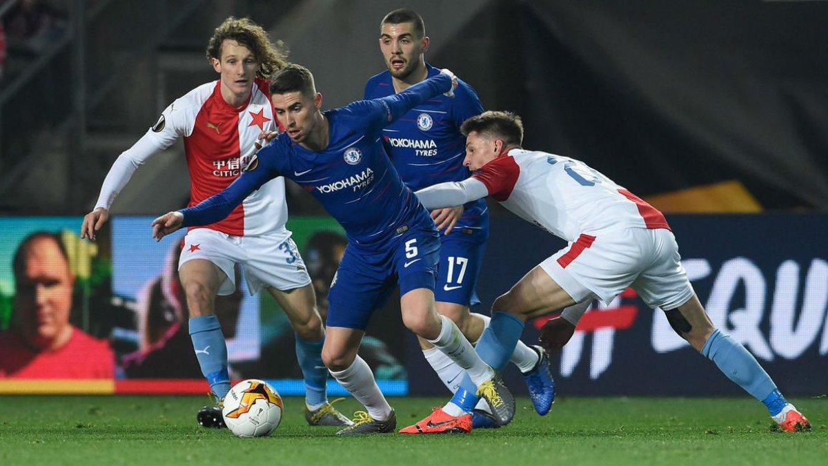 Лига Европы: Челси минимально обыграл Славию, Фелиш хет-триком помог Бенфике победить Айнтрахт