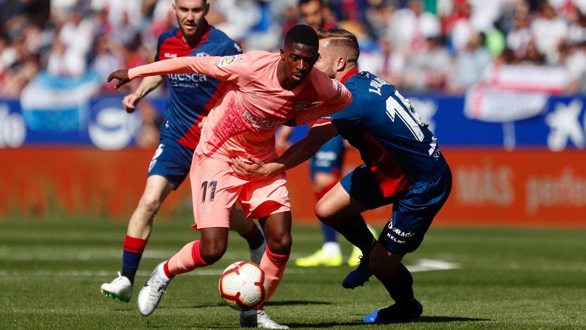 Барселона резервным составом не обыграла аутсайдера Ла Лиги Уэску