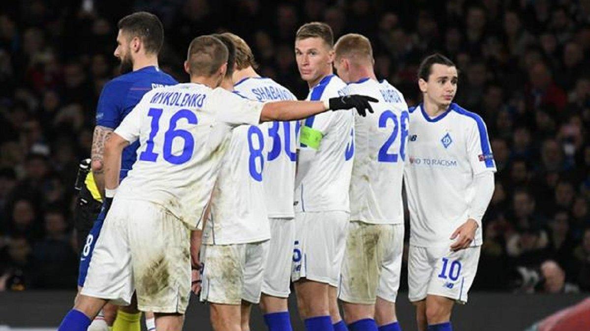 Динамо втратило 1 позицію у рейтингу УЄФА, але повторило свій рекорд