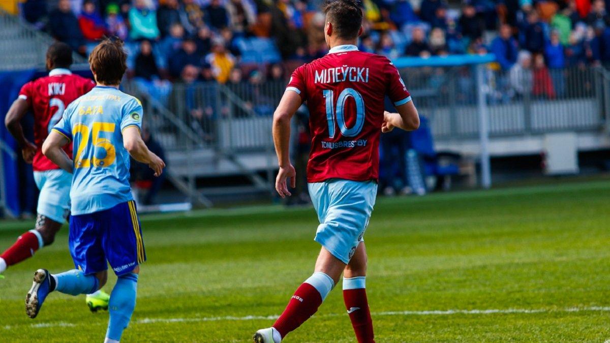 Мілевський та Хобленко допомогли Динамо Б перемогти БАТЕ та вийти у лідери чемпіонату Білорусі