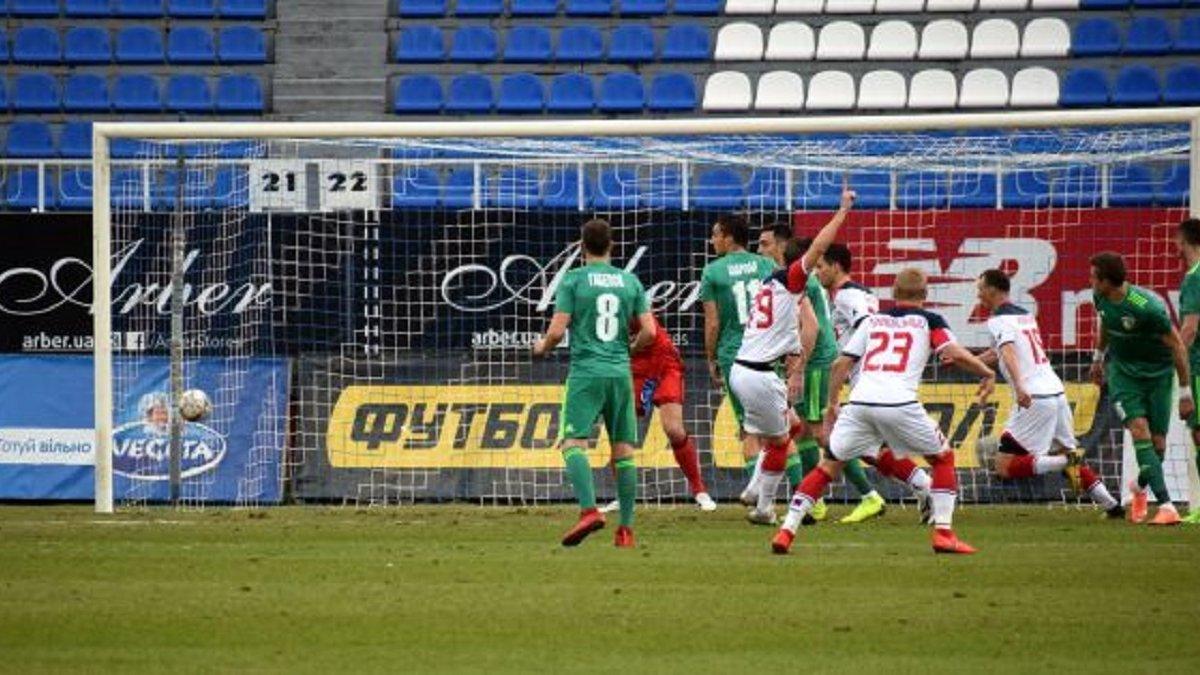 Арсенал-Київ – Ворскла – 1:0 – відео гола та огляд матчу