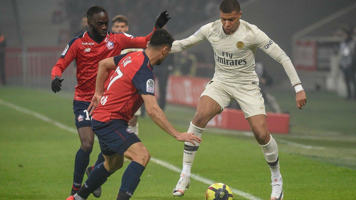 Лилль уничтожил ПСЖ – чемпионство парижан снова откладывается