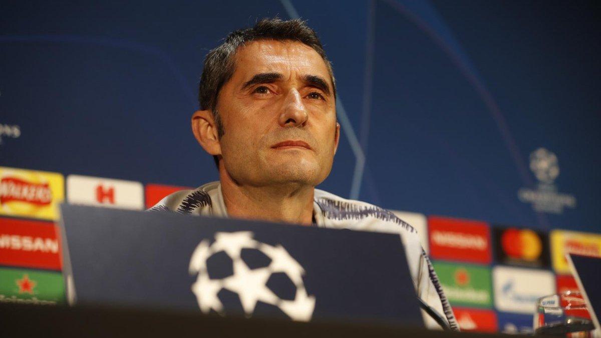 Барселона – Манчестер Юнайтед: предматчевая пресс-конференция Эрнесто Вальверде