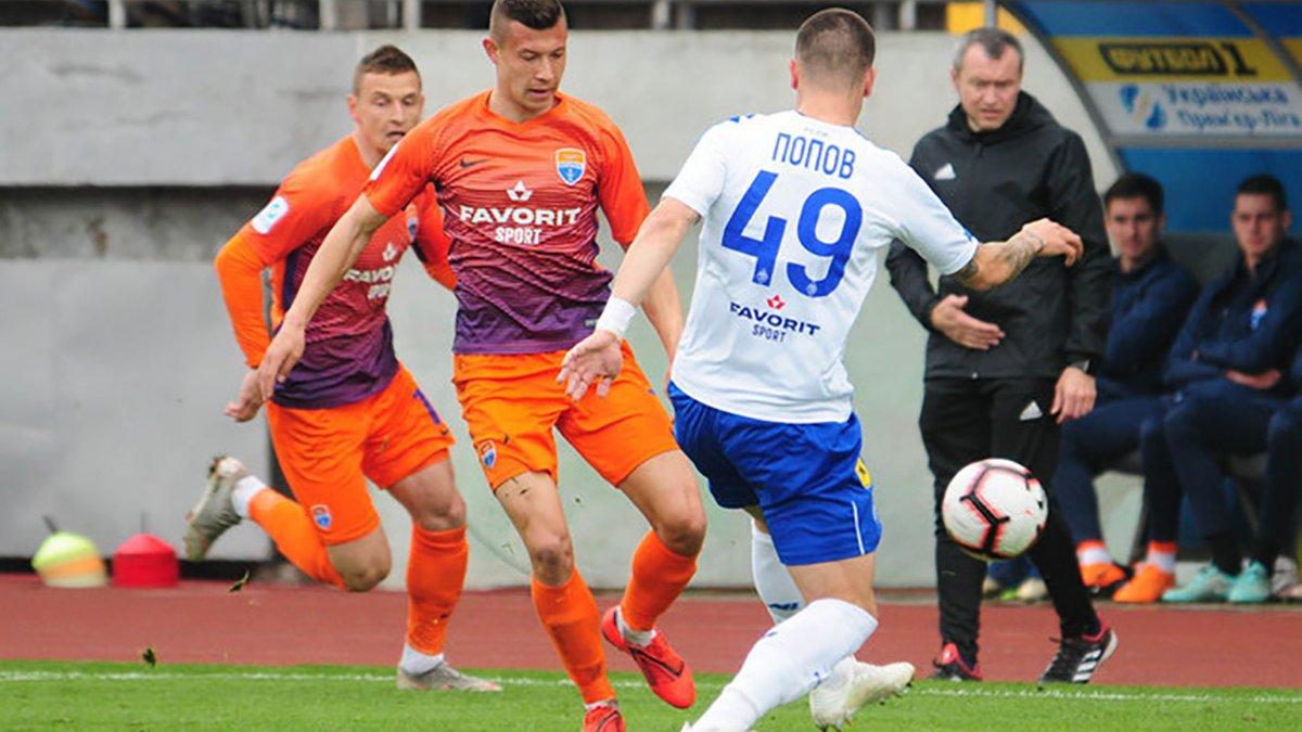 Попов прокоментував свій дебют за Динамо
