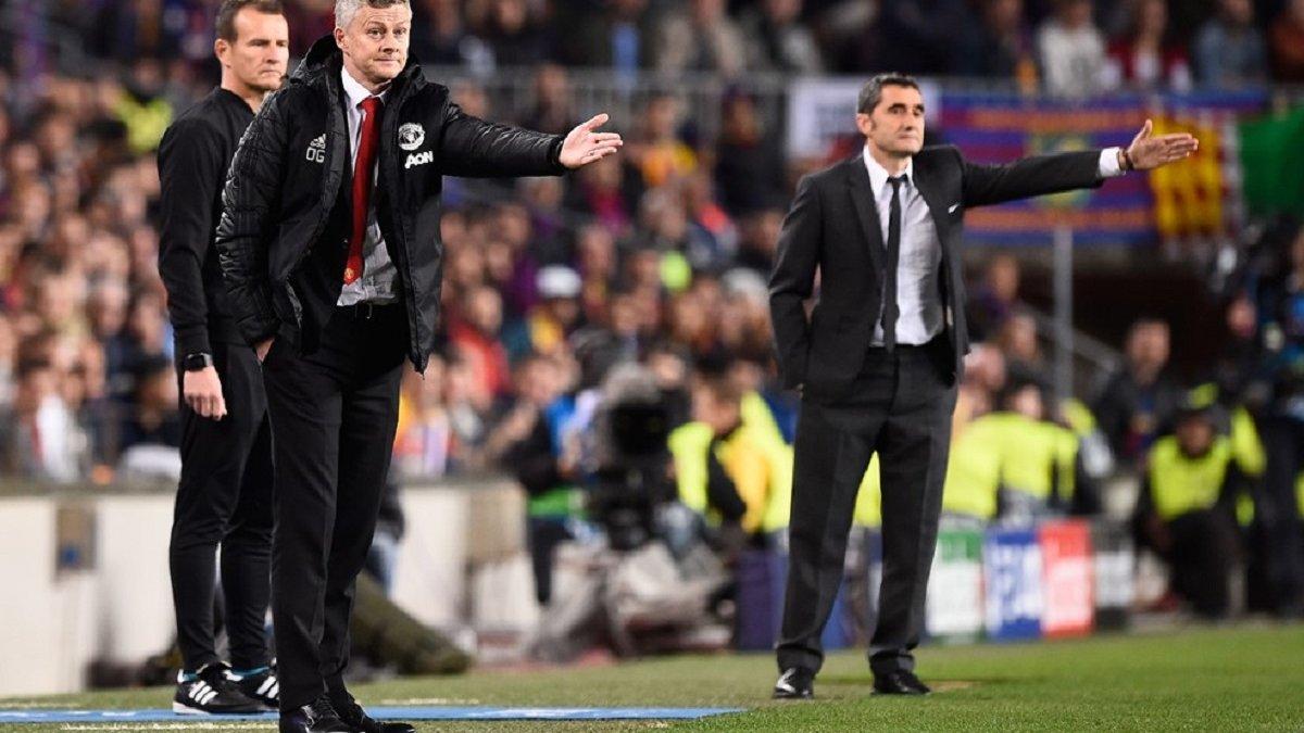 Сульшер: Барселона за грою на кілька рівнів вища, ніж Манчестер Юнайтед