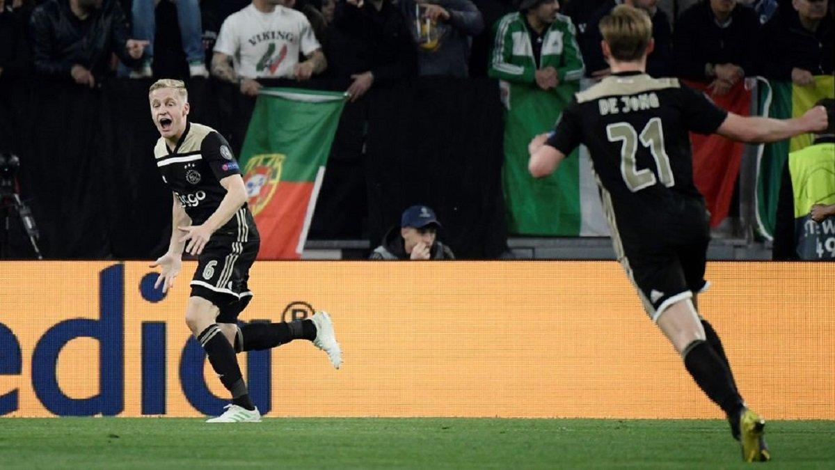 Аякс – первая с 2005 года команда не из топ-5 лиг, которая вышла в полуфинал Лиги чемпионов