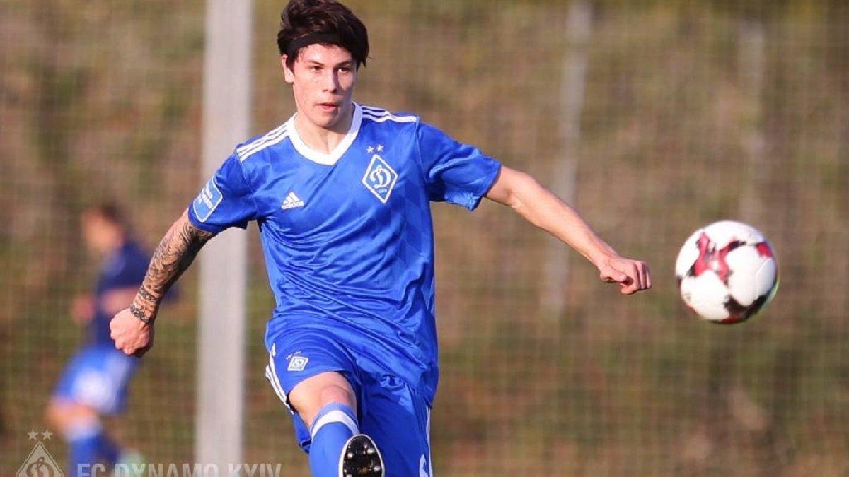 Попов, який нещодавно дебютував за основу Динамо,  назвав свій ідеал захисника