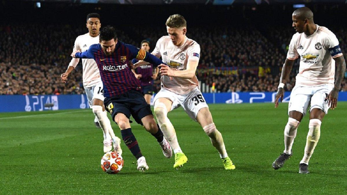 """""""Справжня Барселона"""", – Мессі прокоментував перемогу над Манчестер Юнайтед у Лізі чемпіонів"""