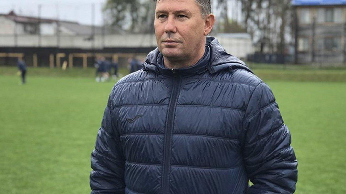 Олімпік представив виконувача обов'язків головного тренера після відходу Шевчука
