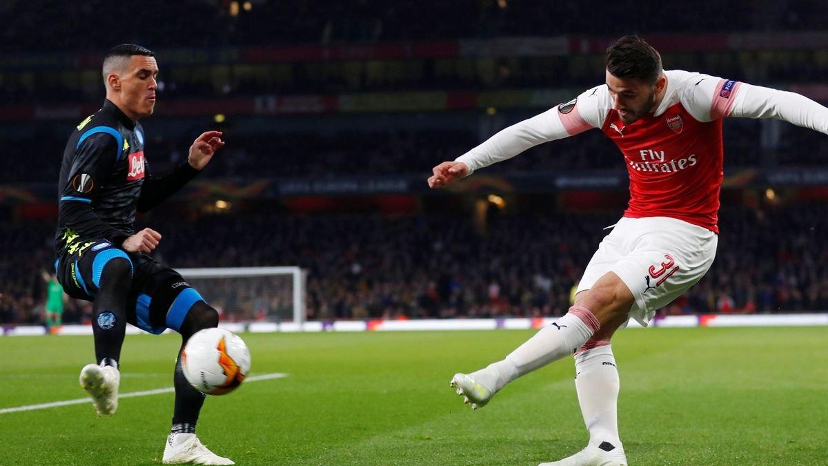 Наполі – Арсенал: онлайн-трансляція матчу 1/4 Ліги Європи – як це було