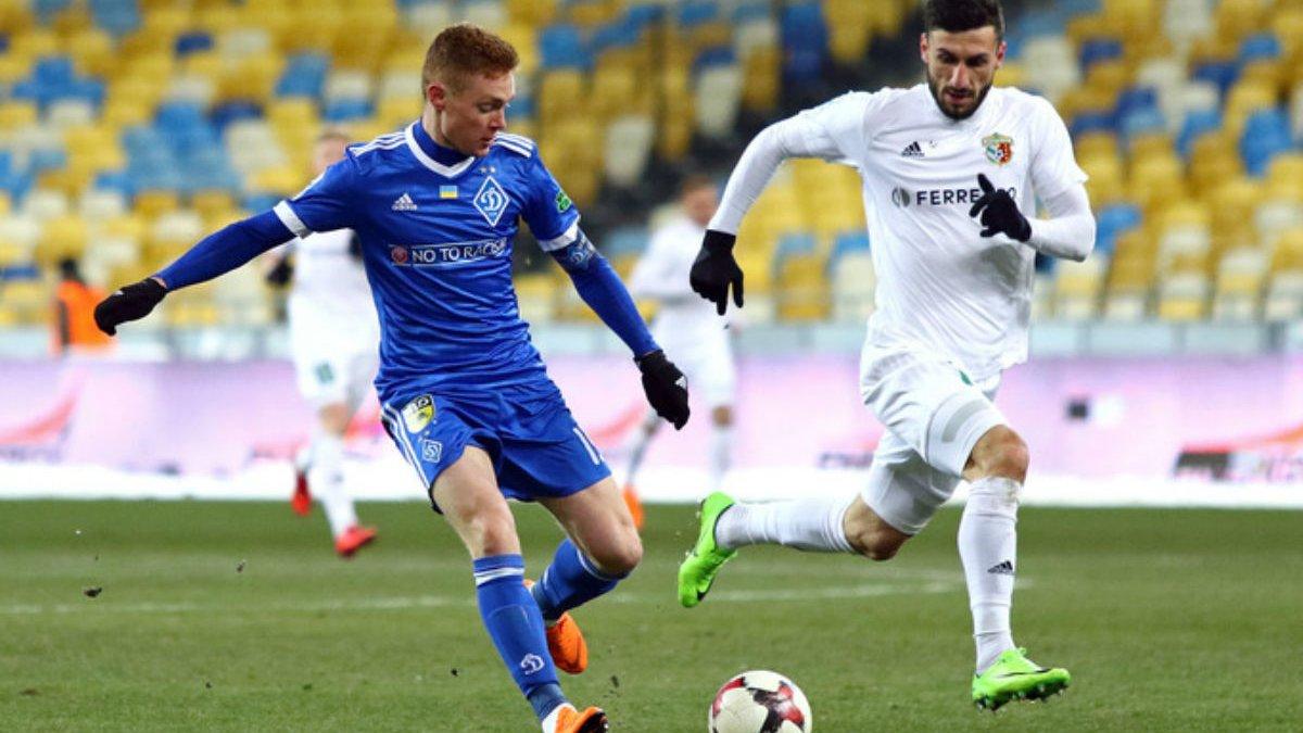 Динамо – Ворскла: онлайн-видеотрансляция матча